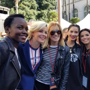 Here's how Jennifer Lawrence, Adele, and other celebrities celebrated the 2018 Women's March
