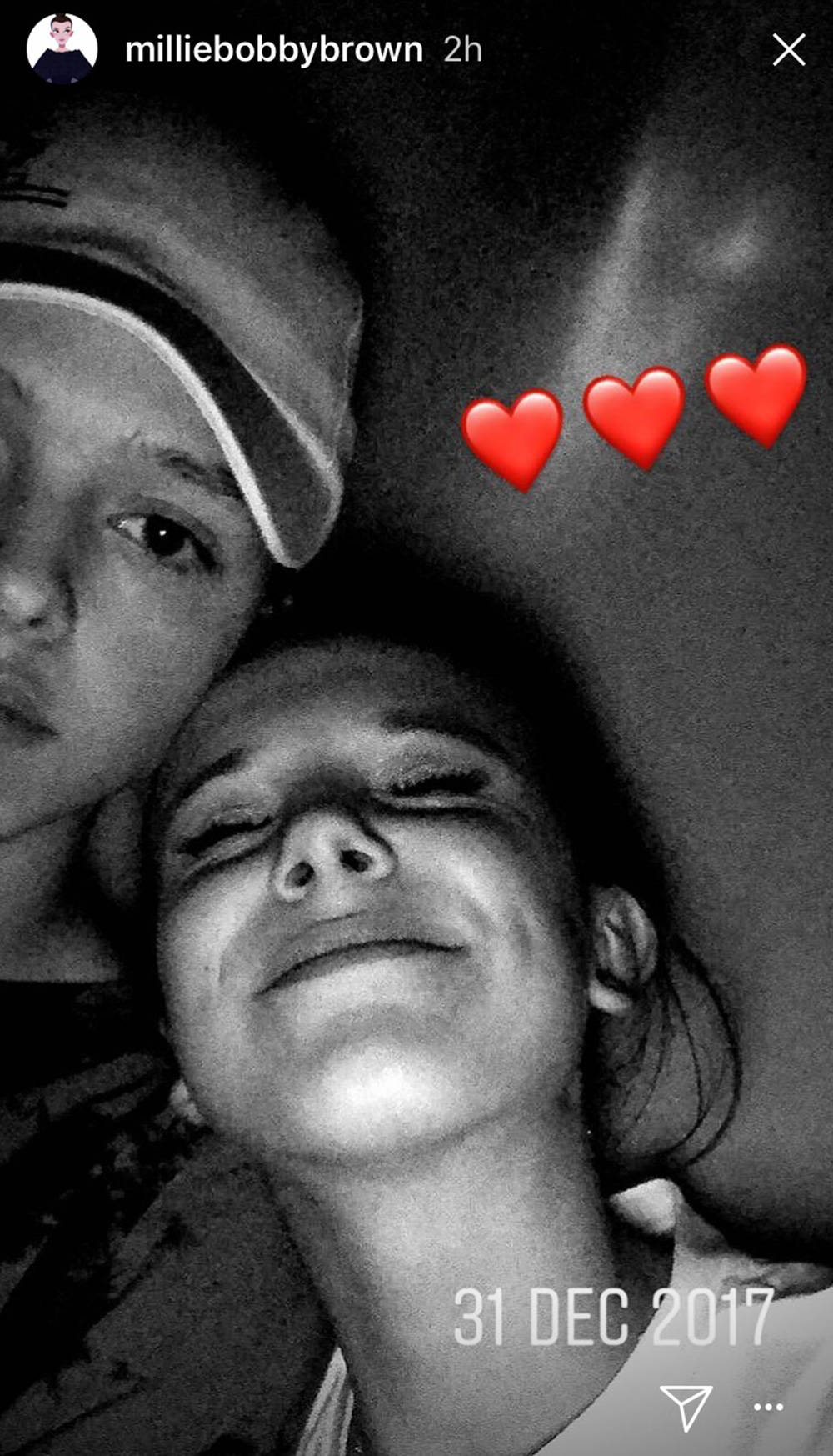 Millie Bobby Brown And Jacob Sartorius Are Instagram Official