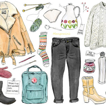 """Lagom,"" the lifestyle trend you'll want to get on board with, illustrated"