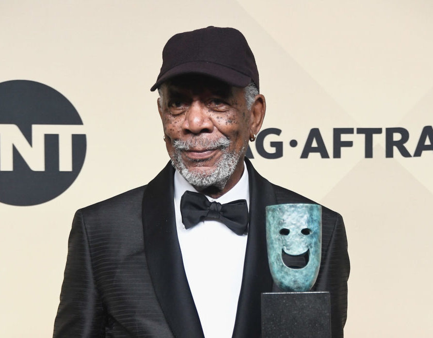 Morgan Freeman called out gender-specific trophies at the 2018 SAG Awards, and *mic drop*