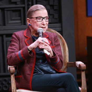 Ruth Bader Ginsburg opened up about being sexually harassed by her college professor
