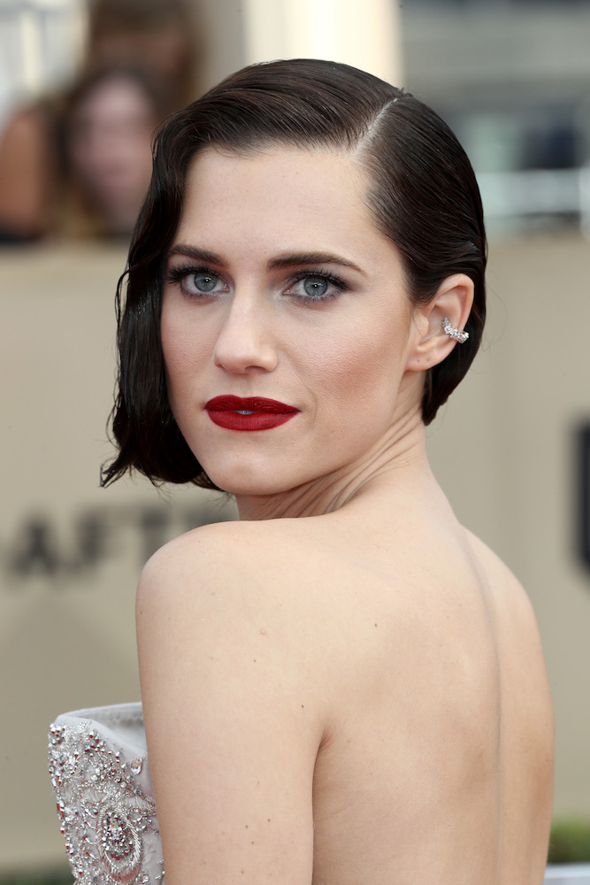 Allison Williams Wore A 6 Lipstick At The 2018 Sag Awards