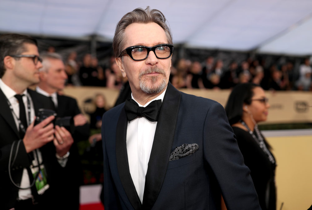 Twitter is not happy about Gary Oldman's 2018 SAG Awards win