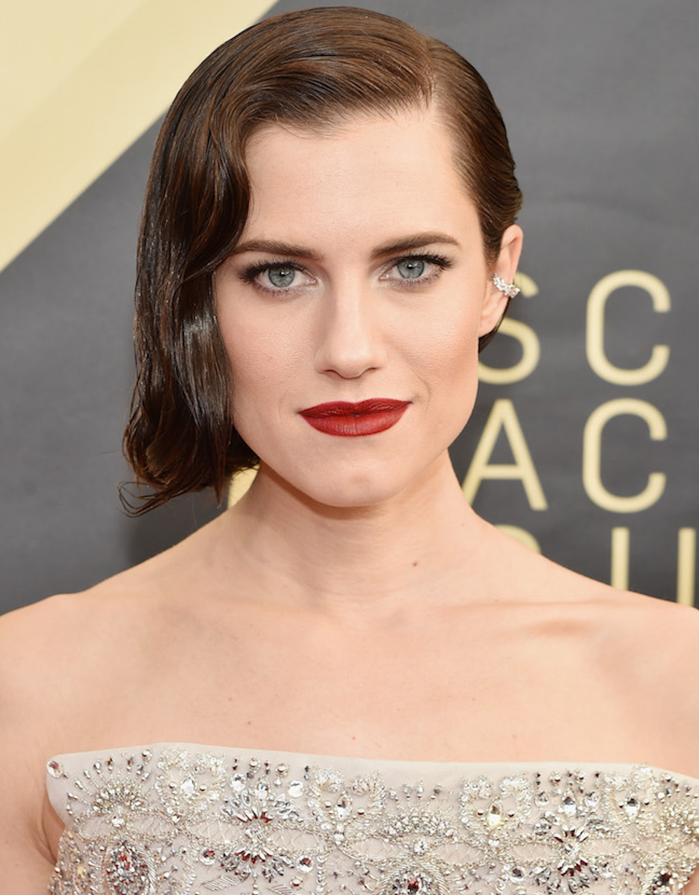 Allison Williams wore a $6 lipstick at the 2018 SAG Awards — here's where to get it