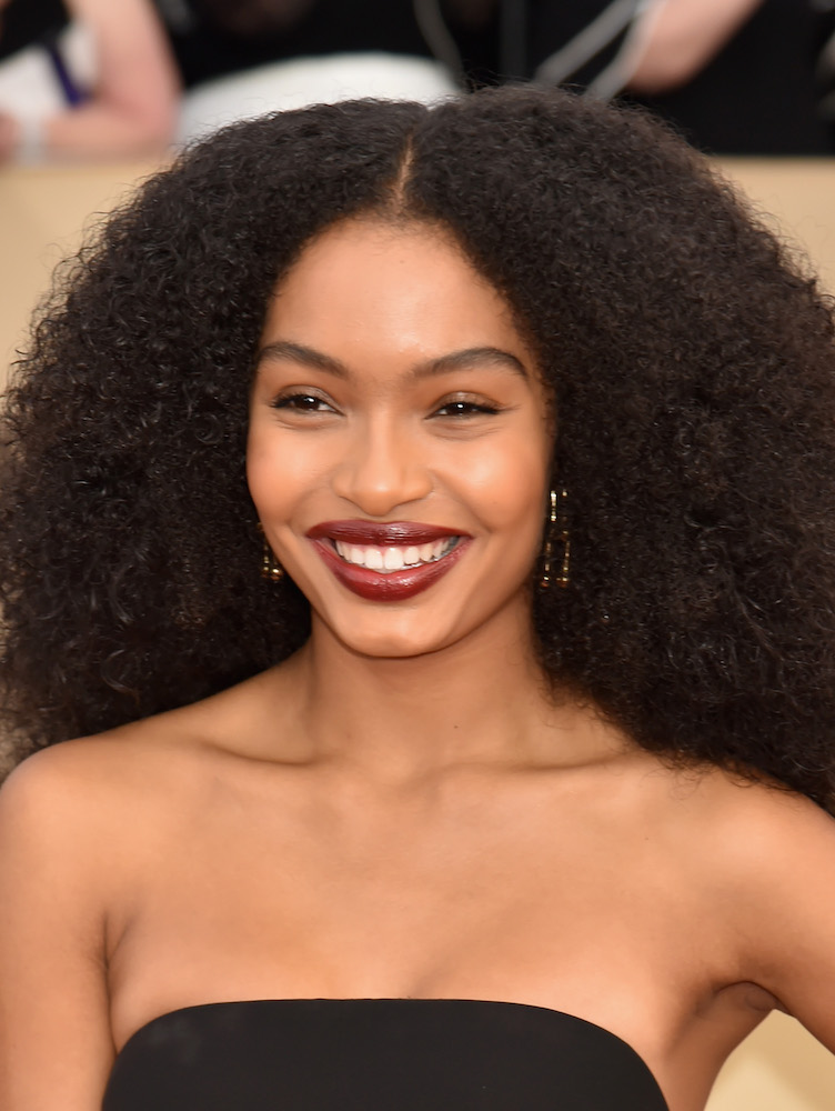 Yara Shahidi served us Diana Ross realness at the 2018 SAG Awards