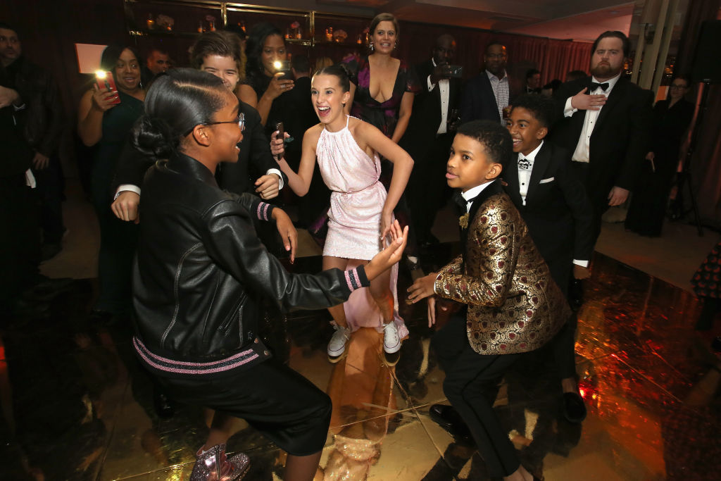 Stranger things and black ish kids dominated the dance for 1234 get on the dance floor star cast