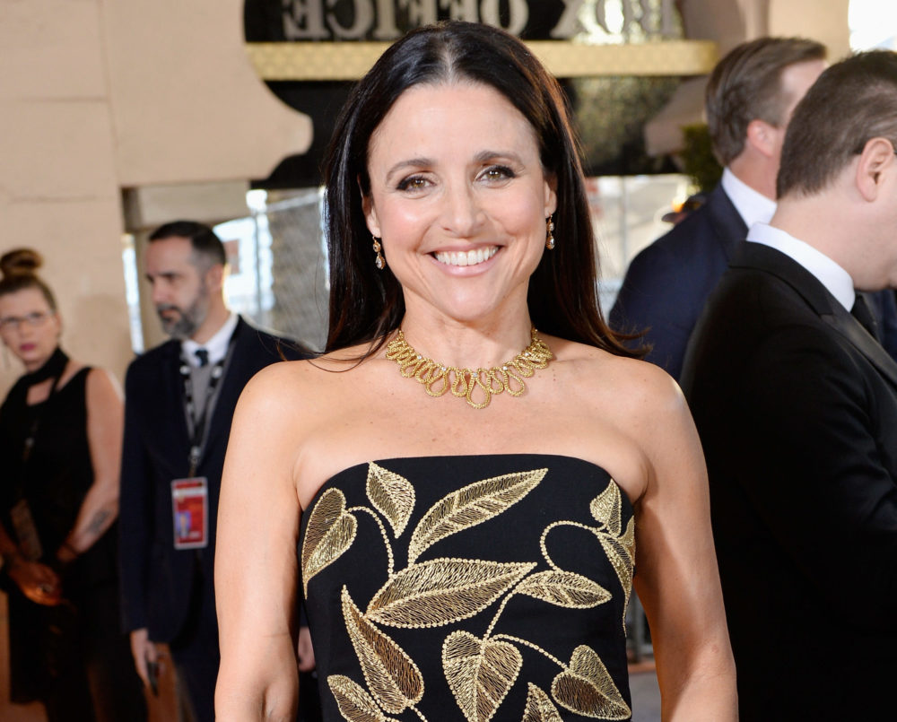Julia Louis-Dreyfus made SAG Awards history sitting at home in her pajamas