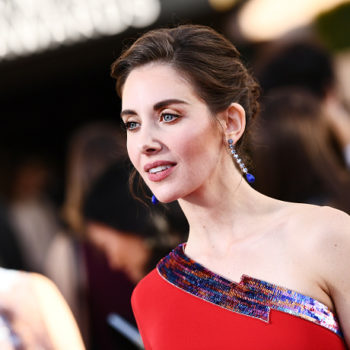 People are mad about Alison Brie's James Franco response at the SAG Awards, but why was she asked that question in the first place?