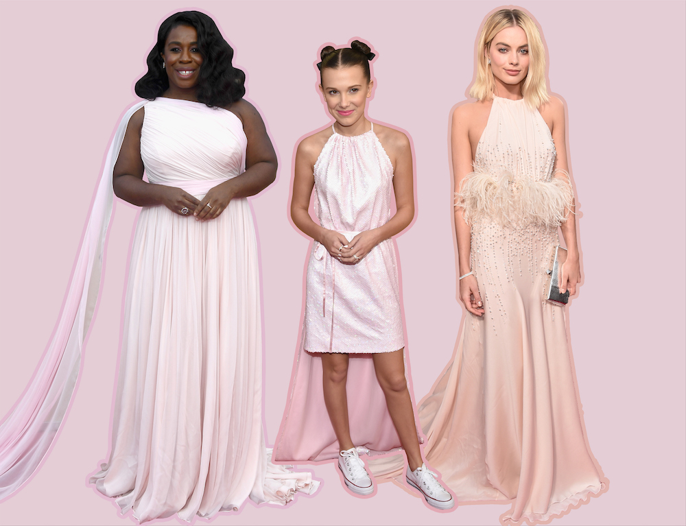 Millennial pink reigned supreme at the 2018 SAG Awards, because we're still in love with this color