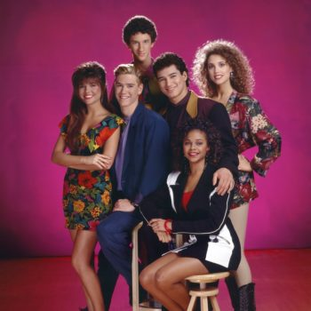 """Attention, Kelly Kapowski fans — a """"Saved by the Bell"""" makeup line is launching soon"""