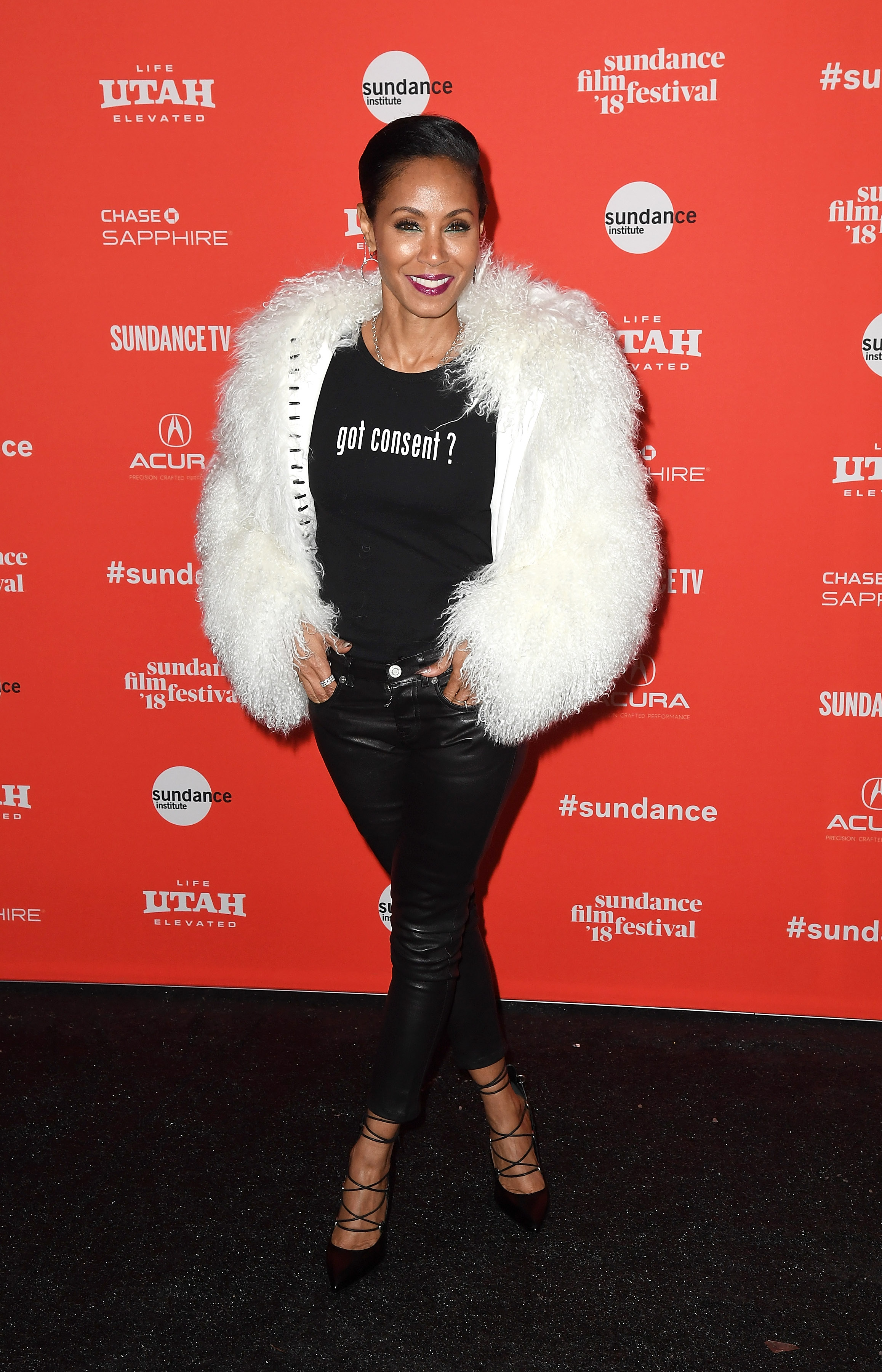 Jada Pinkett Smith Wore A Quot Got Consent Quot Shirt From A Long