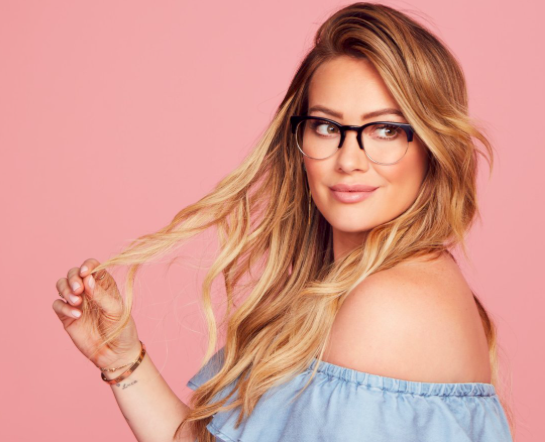 Hilary Duff has her own eyeglass line now, and you'll want them even if you don't wear glasses