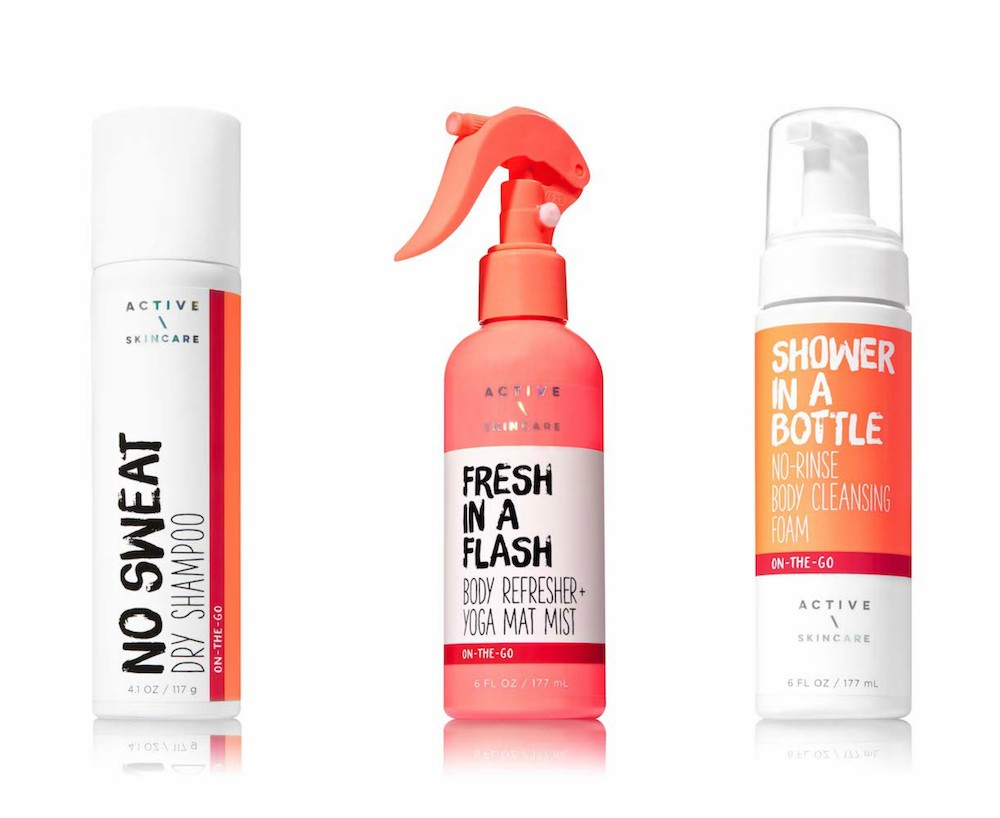Bath and Body Works' new active line will help you keep your exercise resolutions