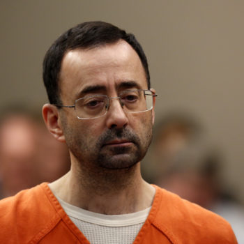 """One of Larry Nassar's victims told him to """"enjoy hell"""" before his sentencing"""