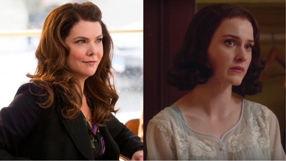 "Lauren Graham wants to be on ""Marvelous Mrs. Maisel,"" because where Amy Sherman-Palladino leads, she will follow"