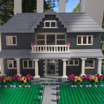 You can apparently buy an exact LEGO replica of your house