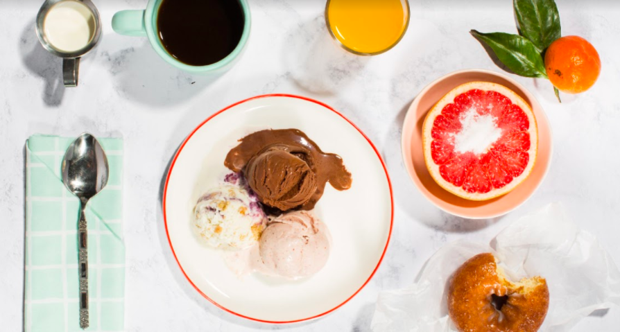 "Jeni's Splendid Ice Creams is celebrating ""Ice Cream for Breakfast Day"" by supporting women in politics"