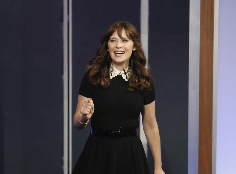 Zooey Deschanel looks so much like Matilda with her new super short haircut