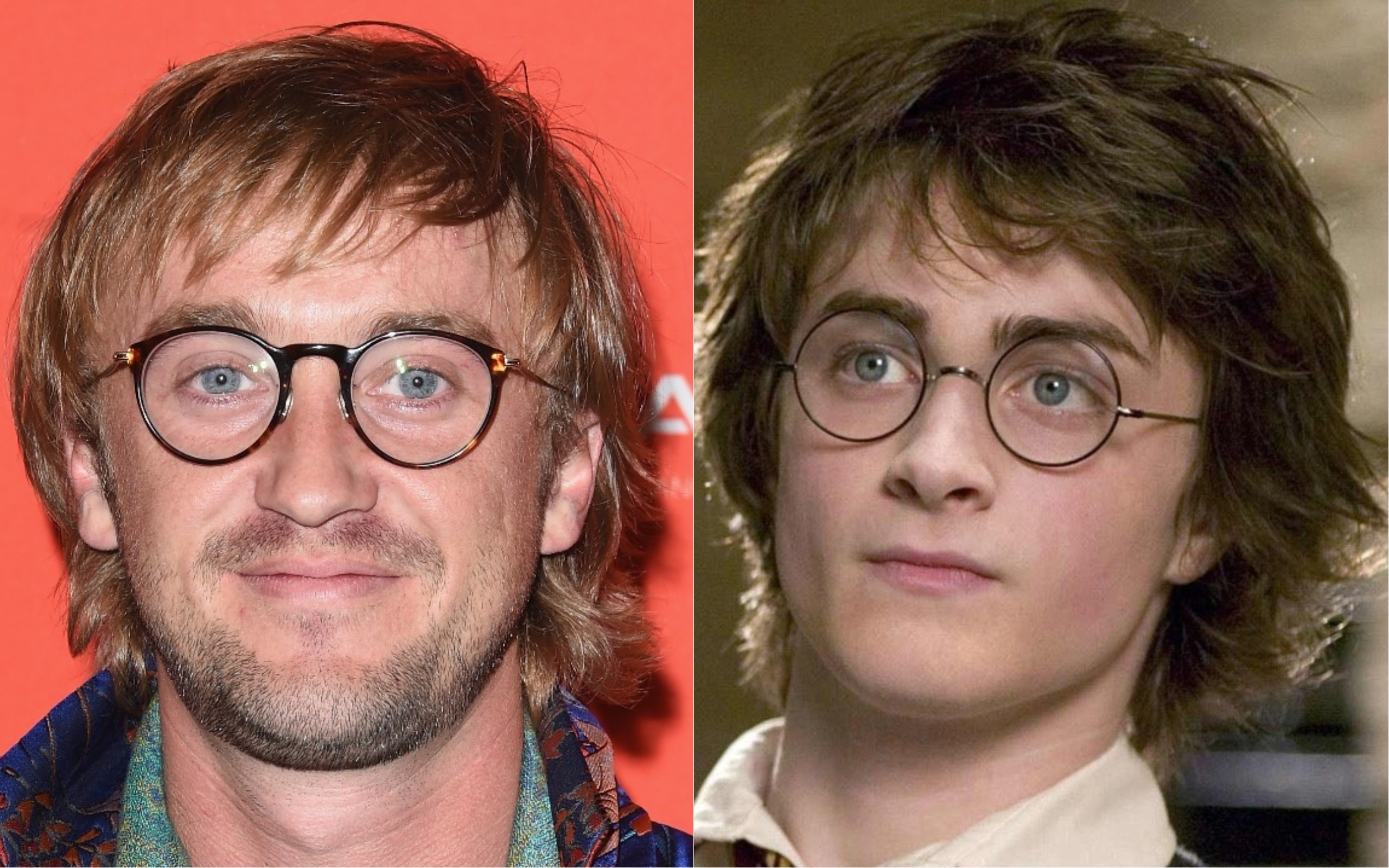 FYI: Tom Felton now looks like Harry Potter from an alternate universe