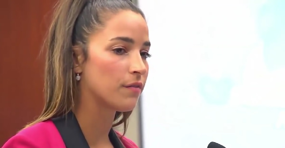 Aly Raisman opened up about how she felt in the courtroom while speaking against Larry Nassar