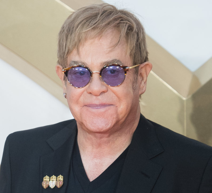 """Elton John opens up about the pain of losing Diana and seeing Prince Harry """"totally in love"""""""