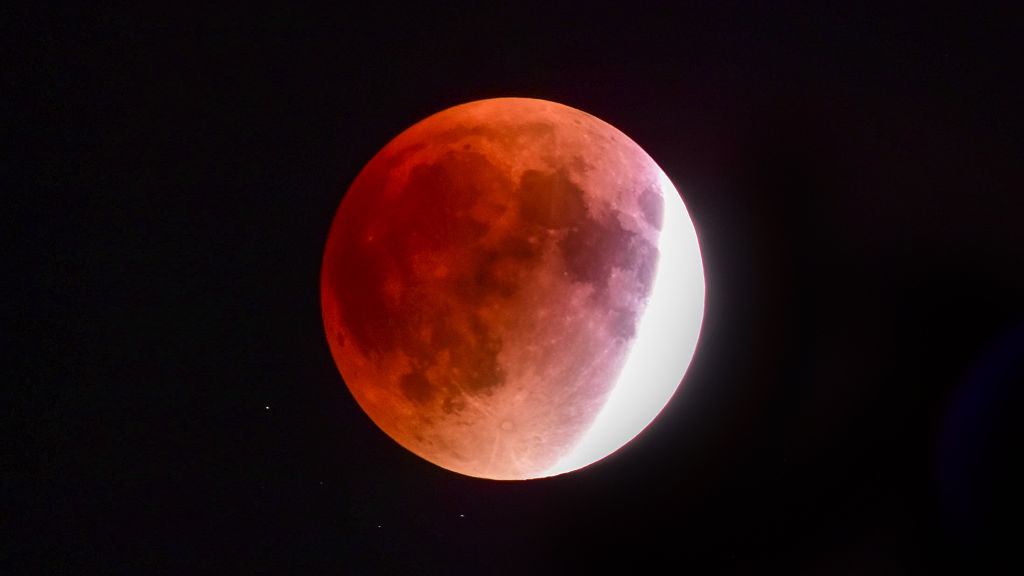 For the first time in 152 years, the lunar eclipse will double as a supermoon and a Blue Moon
