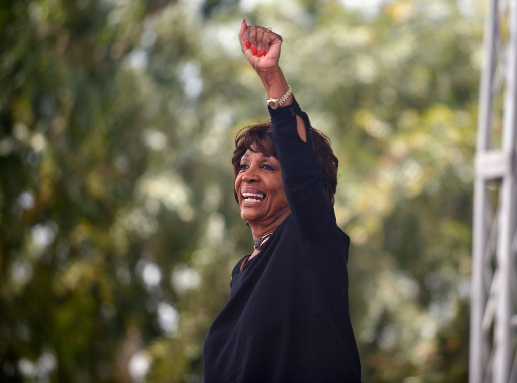 Congresswoman Maxine Waters will address the nation on BET after Donald Trump's State of the Union speech