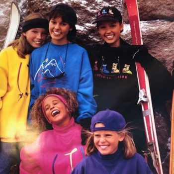 This picture of Jessica Alba and Jessica Biel modeling for Limited Too will bring back sweet memories of the '90s