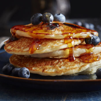 National Blueberry Pancake Day is apparently a thing, and there's still time to celebrate