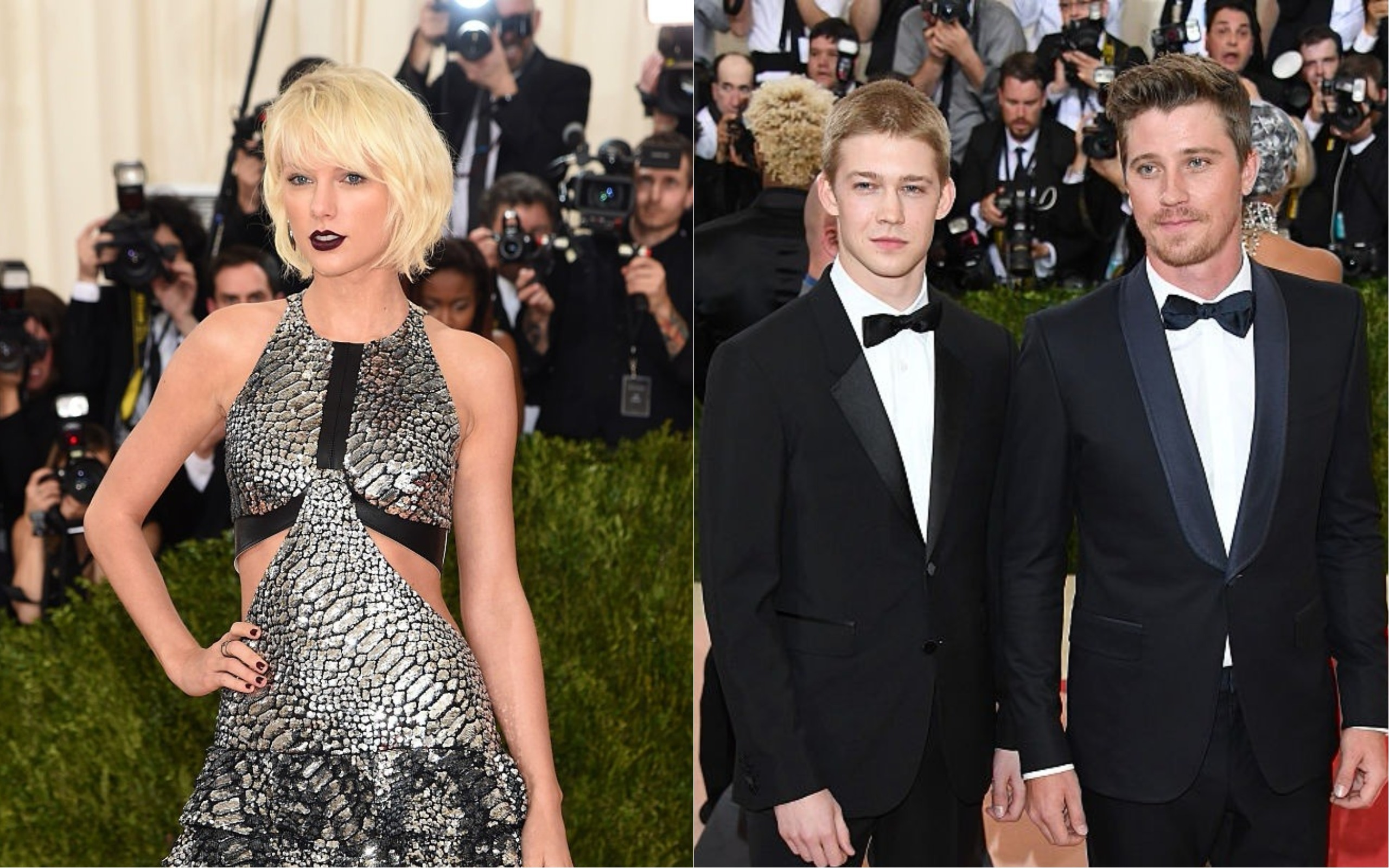 A timeline of taylor swift and joe alwyns relationship hellogiggles may 2016 the met gala meeting m4hsunfo