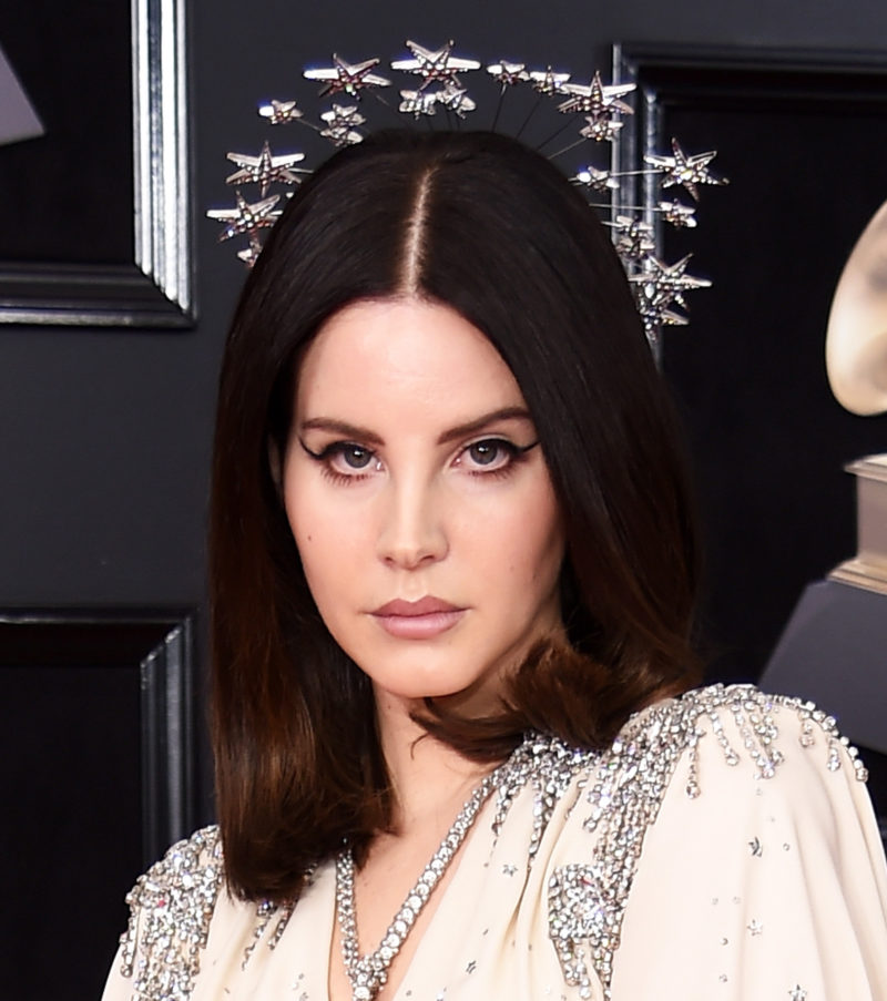 Lana Del Rey channeled the legendary Hedy Lamarr on the 2018 Grammys red carpet