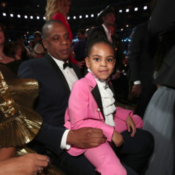 Blue Ivy's all-white look at the Grammys is better than anything we've ever worn
