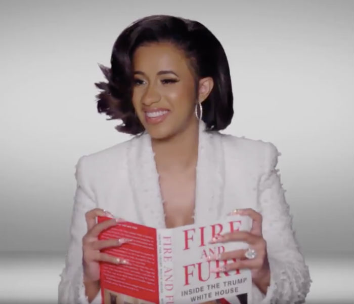 "Watch celebrities read from ""Fire and Fury"" at the 2018 Grammys, and oh the shade of it all"