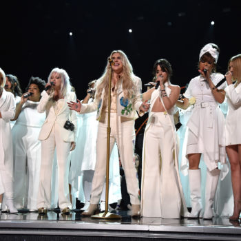 The Resistance Revival Chorus sang with Kesha at the Grammys and gave a hella inspirational performance