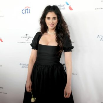 """Sarah Silverman joked that the """"world is basically over"""" at the 2018 Grammys, and we're laugh-crying"""