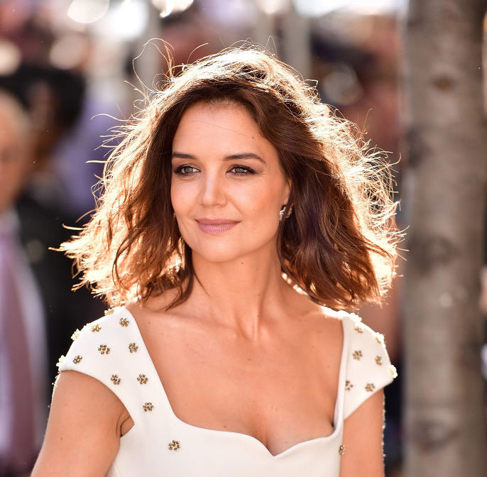 Katie Holmes' pixie hairstyle is the short hair trend for 2018