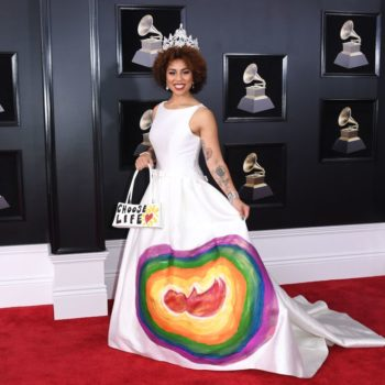 Who is Joy Villa, the woman who wore the pro-life dress to the 2018 Grammys?