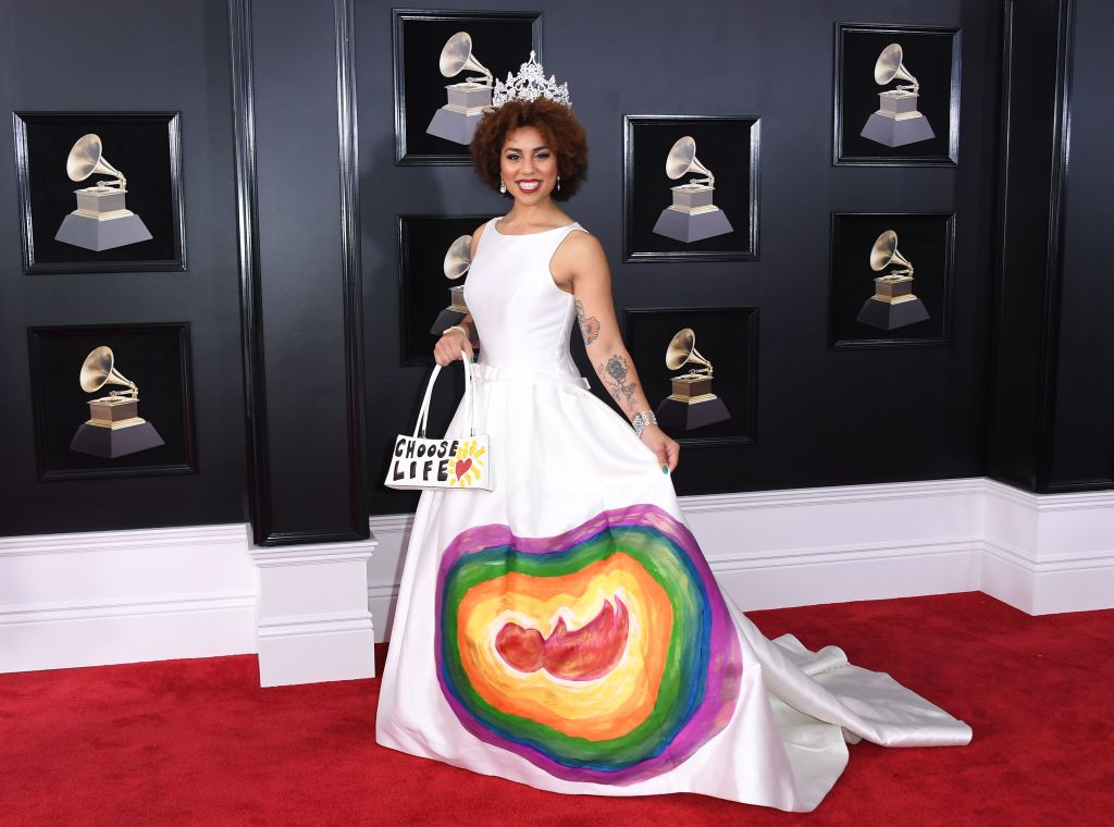 Joy Villa: Who Is Joy Villa, The Woman Who Wore The Pro-life Dress To