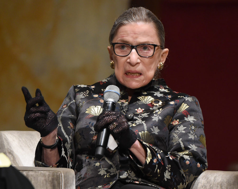 Ruth Bader Ginsburg is skipping Trump's State of the Union address