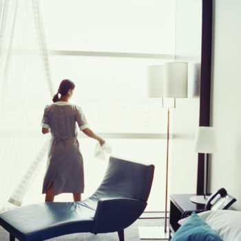 Hotel housekeepers are demanding panic buttons for protection from sexual assault