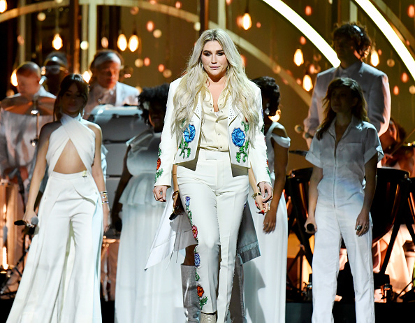 Kesha's 2018 Grammys performance can help survivors find their voices in the #MeToo movement