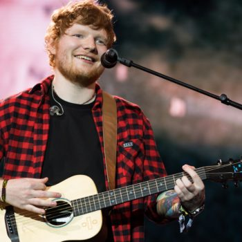 Ed Sheeran didn't go to the Grammys because he was sound asleep