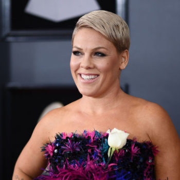 This is the bra Pink wore during her stripped-down Grammys performance