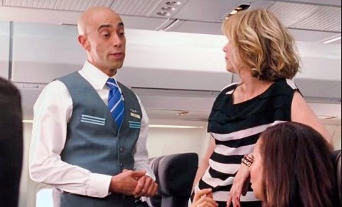 This writer shared the most bizarre flight attendant experience we've ever heard