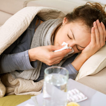 How can you tell whether you have a cold or the flu?