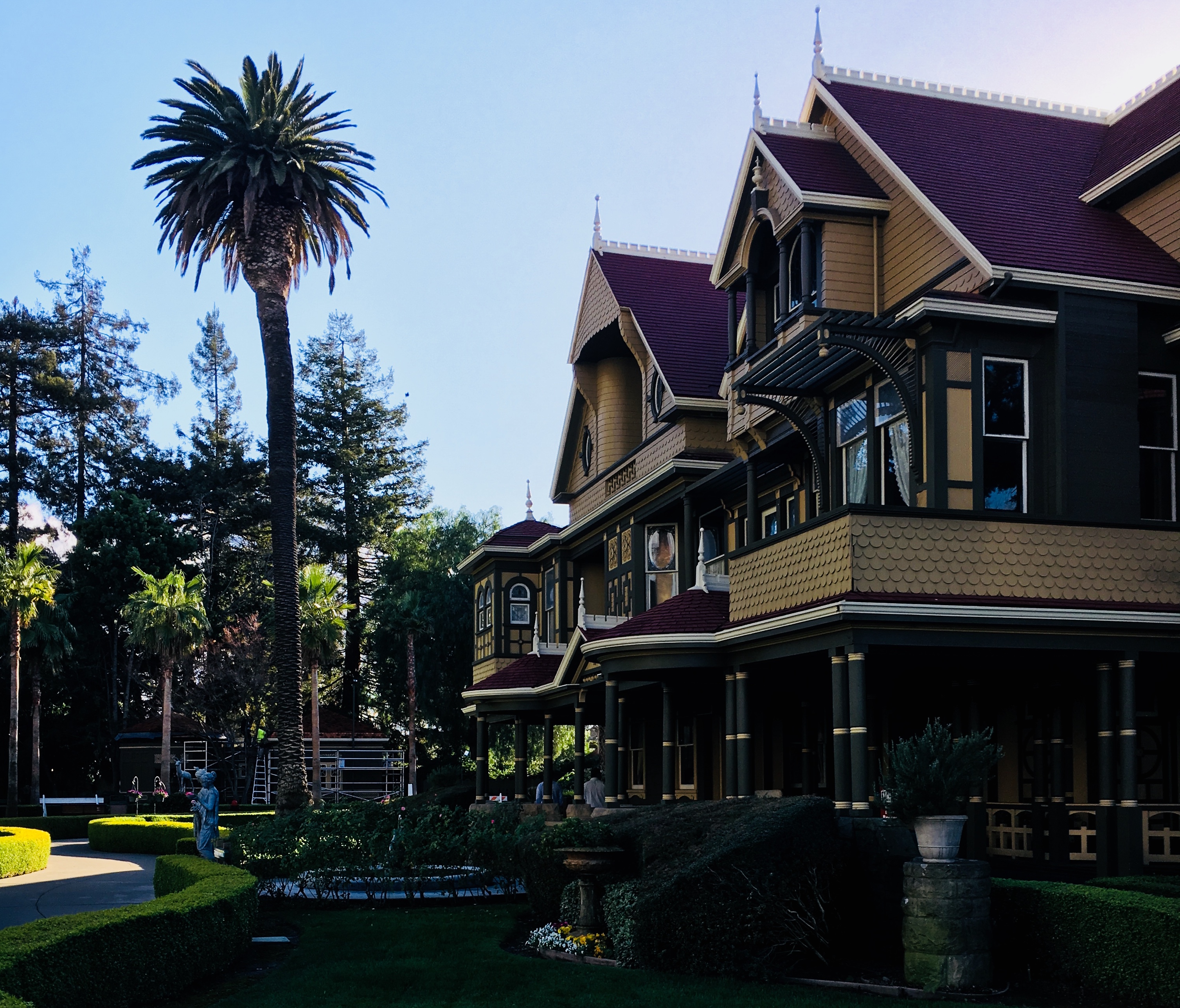 I visited the real Winchester Mystery House and it was sort of scary — but mostly sad