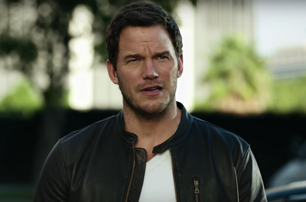 Chris Pratt's Super Bowl commercial is here, and it is a very good excuse to look at his muscles