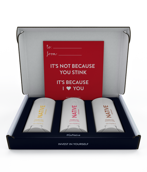 Forget flowers — you can buy your loved one chocolate-covered strawberry deodorant for V-Day