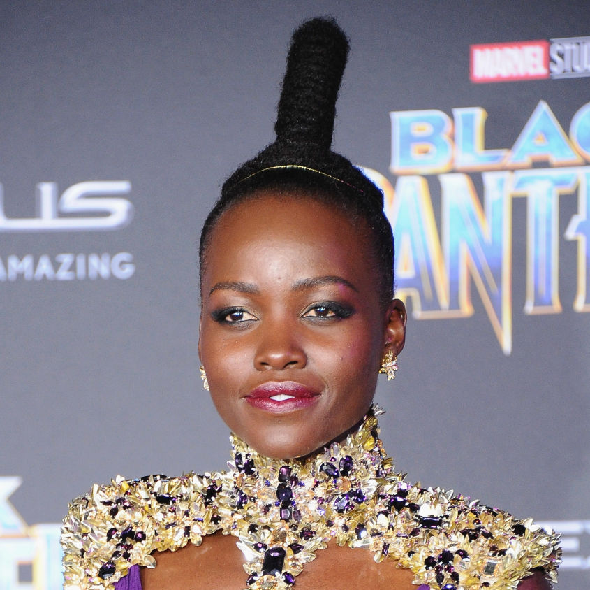 "Lupita Nyong'o looked like a warrior princess at the ""Black Panther"" premiere, and Xena would be jealous"