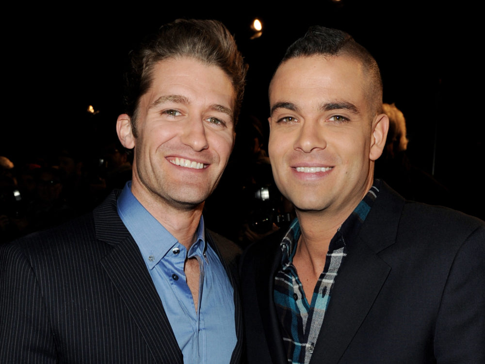 "Matthew Morrison grieves the loss of his former ""Glee"" co-star, Mark Salling, in an Instagram post"
